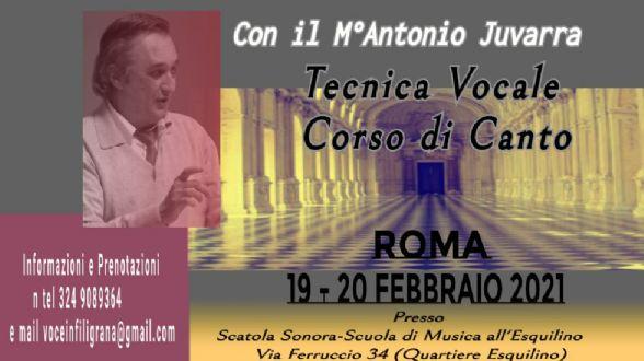 Attività - Appuntamento con Antonio Juvarra