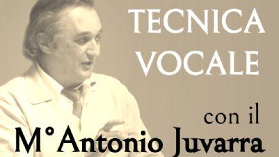 Attività - Corso di Tecnica Vocale Trimestrale con il M° Antonio Juvarra