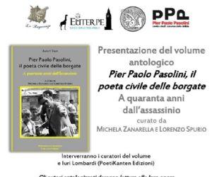 Libri: Pier Paolo Pasolini, il poeta civile delle borgate