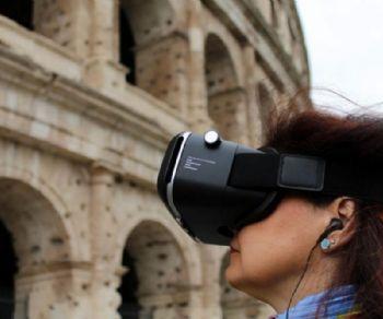 Visita guidata con archeologo e visore della realtà virtuale