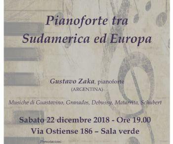 Concerti - Pianoforte tra Sudamerica ed Europa