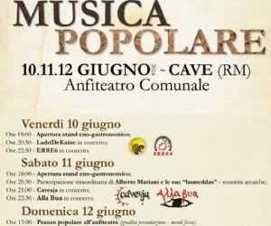 Festival: Festival Di Musica Popolare
