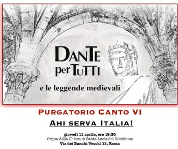 Purgatorio VI - Ahi serva Italia!