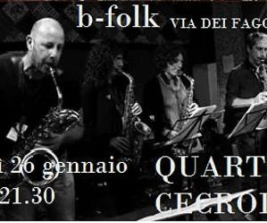 Locali: Jo jazz presenta Quartetto Cecrolla in concerto