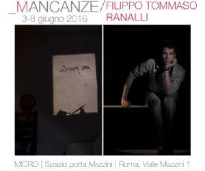 Mostra di Filippo Tommaso Ranalli