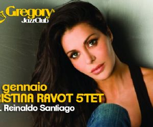 Stasera la voce di Cristina Ravot incontra i ritmi di Reinaldo Santiago