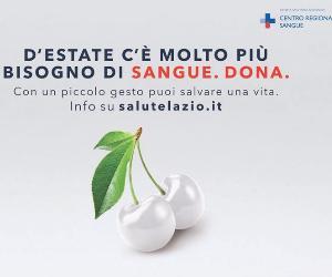 Ogni anno a Roma 50mila donazioni meno del necessario. L'appello per andare a donare anche durante l'estate