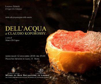 Mostre - Dell'Acqua