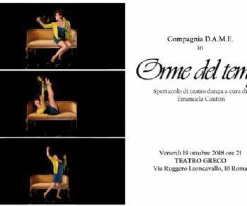 """Spettacoli - Spettacolo di TeatroDanza """"Orme del Tempo"""""""
