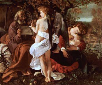 Visite guidate - Caravaggio a puntate, ep. 4 - Il Riposo durante la fuga in Egitto