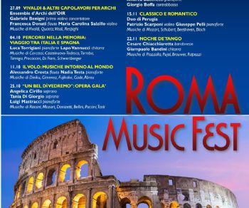 Concerti - Roma Music Fest
