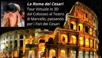 Visite guidate: La Roma Imperiale fra realtà e ricostruzioni virtuali in 3D