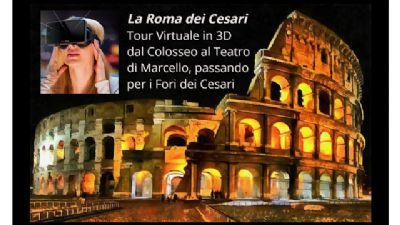 Visite guidate - La Roma Imperiale fra realtà e ricostruzioni virtuali in 3D
