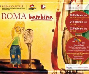 Un viaggio tra le narrazioni di bambine e bambini che raccontano la città di Roma dagli Anni '30