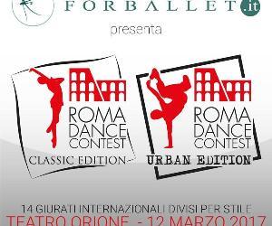 Spettacoli - Il Nuovo Teatro Orione ospita il Roma Dance Contest