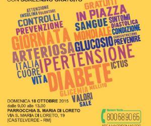Screening gratuito del diabete e dell'ipertensione
