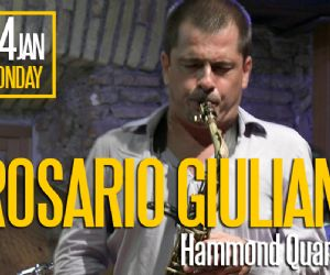Concerti: Rosario Giuliani Hammond Quartet