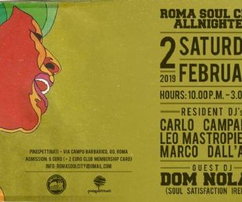 Serate - Roma Soul City Allnighter