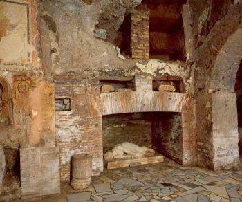 Bambini - I sotterranei di Santa Cecilia in Trastevere