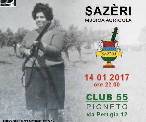 "Locali: SAZERI ""Musica Agricola"""