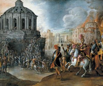 Locandina evento: 1527: il sacco di Roma