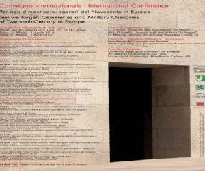 Attività: Per non dimenticare: sacrari del Novecento in Europa