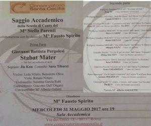 Concerti - Saggio Accademico della Scuola di Canto del M° Stella Parenti