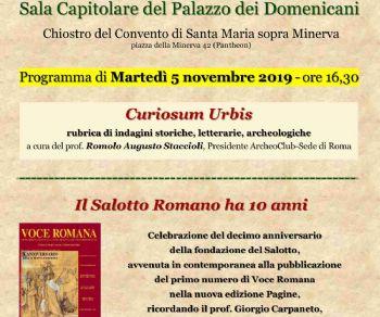 Spettacoli - Salotto Romano, X Anniversario