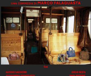 In scena lo scompartimento di un treno