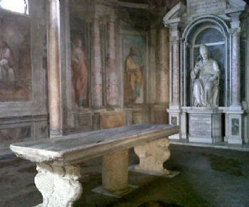 Visite guidate - I sotterranei, la biblioteca e gli oratori di San Gregorio al Celio