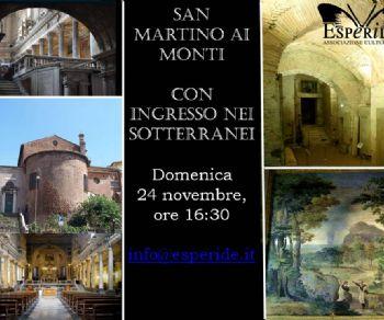 """Visite guidate - Roma """"sottoterra"""": San Martino ai Monti con ingresso nei sotterranei"""