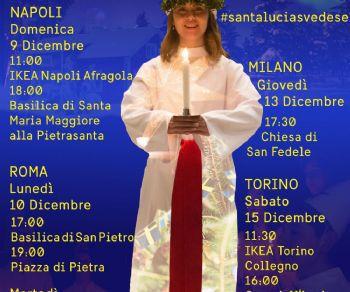 Concerti - Santa Lucia svedese a Roma