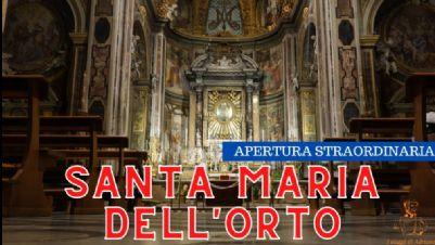 Visite guidate - La chiesa di Santa Maria dell'orto