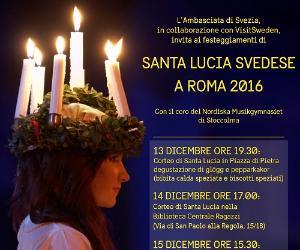 Concerti - Festa di Santa Lucia svedese a Roma