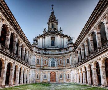 Visita guidata alla chiesa del Borromini dalla cupola unica