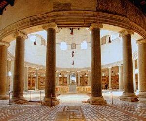 Uno dei più complessi esempi di edifici a pianta circolare a Roma