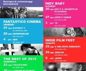 Cinema in Piazza Pia 2015