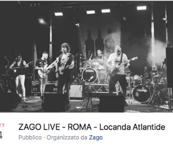 La rock band a Locanda Atlantide