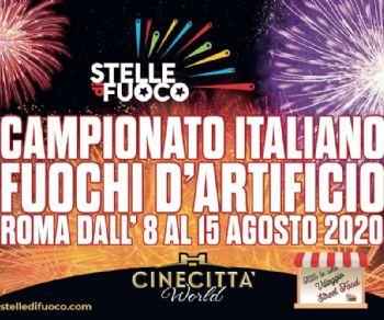 Spettacoli - Campionato Italiano di Fuochi d'Artificio