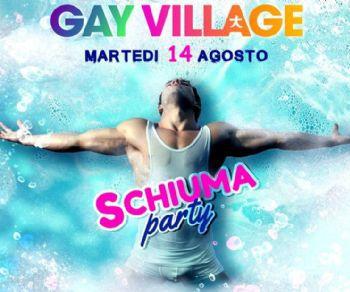 Serate - Ferragosto di Schiuma al Gay Village