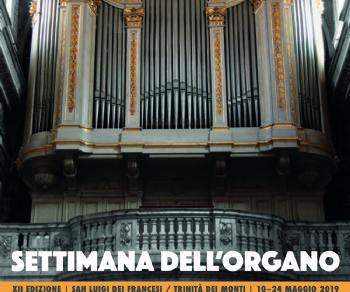 """Concerti - XII edizione della """"Settimana dell'organo"""": Padre Stefan U. Kling O.Praem."""