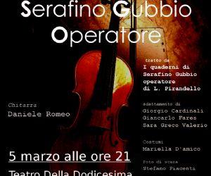 """Spettacoli: Giancarlo Fares in """"Serafino Gubbio Operatore"""""""