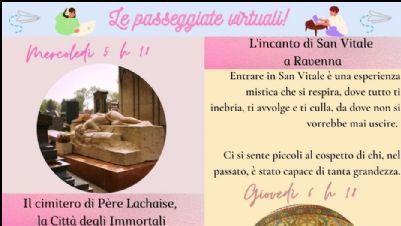 Appuntamenti virtuali - Con le passeggiate virtuali Calipso ti porta lontano!