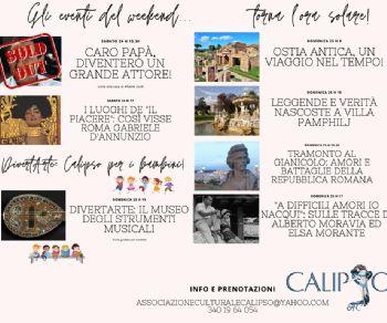 Visite guidate: A Roma d'Autunno con Calipso!