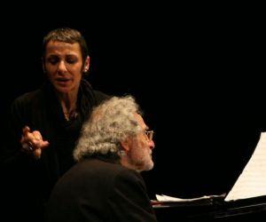 Recital di Luis Bacalov e Anna Maria Castelli