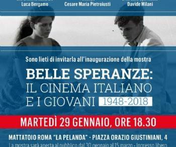 Mostre - Belle speranze. Il cinema italiano e i giovani 1948 - 2018