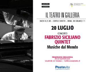 Una esibizione imperdibile e raffinata del Fabrizio Siciliano Quintet