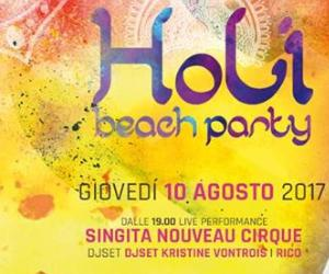 Serate: Holi Beach Party al Singita di Fregene