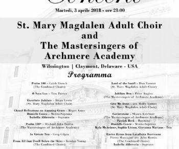 Il Coro è diretto dal Maestro David Ifkovits