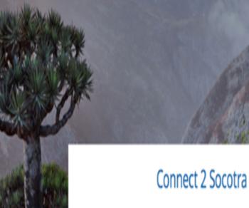 Per sensibilizzare l'opinione pubblica sul ricco e distinto patrimonio naturale e culturale di Socotra